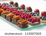 catering sweets | Shutterstock . vector #115007005