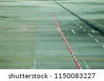 airport runway of the airplane | Shutterstock . vector #1150083227