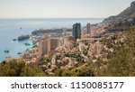 panoramic view of the... | Shutterstock . vector #1150085177