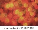 bokeh lights grunge background... | Shutterstock . vector #115009435