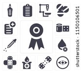 set of 13 simple editable icons ... | Shutterstock .eps vector #1150106501