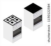 raster illustration isometric... | Shutterstock . vector #1150122584