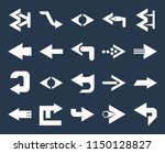 set of 20 simple editable icons ... | Shutterstock .eps vector #1150128827
