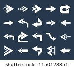 set of 20 simple editable icons ... | Shutterstock .eps vector #1150128851