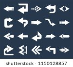 set of 20 simple editable icons ... | Shutterstock .eps vector #1150128857