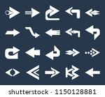 set of 20 simple editable icons ... | Shutterstock .eps vector #1150128881
