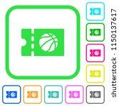 basketball discount coupon... | Shutterstock .eps vector #1150137617