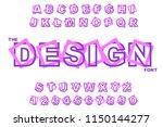 vector of modern abstract... | Shutterstock .eps vector #1150144277