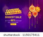 raksha bandhan biggest sale... | Shutterstock .eps vector #1150175411