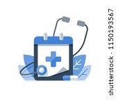health care program  medical... | Shutterstock .eps vector #1150193567