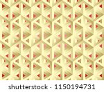 impossible figures isometric 3d ... | Shutterstock .eps vector #1150194731