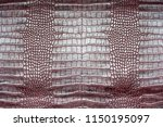 crocodile leather for... | Shutterstock . vector #1150195097