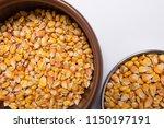 macro view of natural organic... | Shutterstock . vector #1150197191