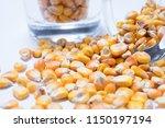 macro view of natural organic... | Shutterstock . vector #1150197194