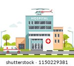medical concept with hospital... | Shutterstock .eps vector #1150229381