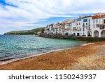 sea landscape with cadaques ...   Shutterstock . vector #1150243937