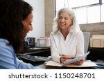 senior professional woman...   Shutterstock . vector #1150248701