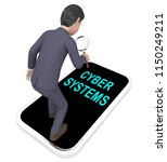cyber physical systems bot... | Shutterstock . vector #1150249211