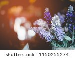soft focus colorful wild... | Shutterstock . vector #1150255274