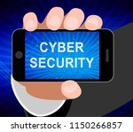 cyber security solutions threat ... | Shutterstock . vector #1150266857