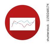 statistics vector icon ... | Shutterstock .eps vector #1150268174