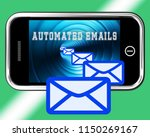 email automation digital... | Shutterstock . vector #1150269167