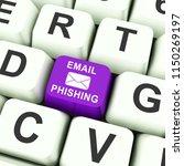phishing e mail internet threat ...   Shutterstock . vector #1150269197