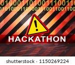 hackathon technology threat...   Shutterstock . vector #1150269224