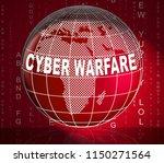 cyber warfare hacking attack... | Shutterstock . vector #1150271564
