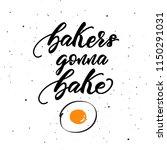 lettering poster for kitchen ... | Shutterstock .eps vector #1150291031
