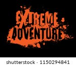 off road extreme adventure hand ... | Shutterstock .eps vector #1150294841