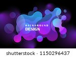 abstract colorful geometric... | Shutterstock .eps vector #1150296437