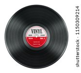 gramophone record long played... | Shutterstock . vector #1150309214