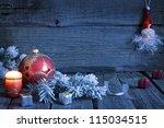 Christmas Vintage Background...