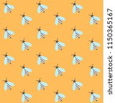 seamless pattern with cute... | Shutterstock .eps vector #1150365167