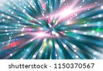 abstract blue background.... | Shutterstock . vector #1150370567