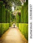 Garden Of The Poets  Alcazar...