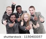 international business team... | Shutterstock . vector #1150403357