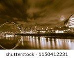 newcastle upon tyne england  ... | Shutterstock . vector #1150412231