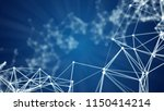 abstract polygonal background... | Shutterstock . vector #1150414214