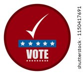 united states campaign button | Shutterstock .eps vector #1150417691
