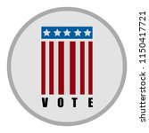 united states campaign button | Shutterstock .eps vector #1150417721