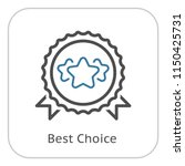 best choice line icon. client... | Shutterstock .eps vector #1150425731