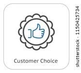 customer choice line icon.... | Shutterstock .eps vector #1150425734