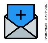 add new message | Shutterstock .eps vector #1150442087