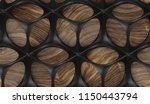 black perforated solid... | Shutterstock . vector #1150443794