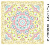 decorative colorful ornament on ... | Shutterstock .eps vector #1150447421