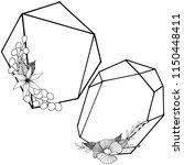 vector diamond rock jewelry...   Shutterstock .eps vector #1150448411