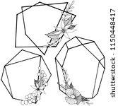 vector diamond rock jewelry...   Shutterstock .eps vector #1150448417