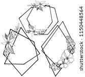 vector diamond rock jewelry...   Shutterstock .eps vector #1150448564